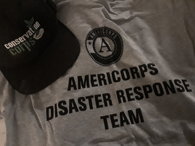 Corps shirt and hat