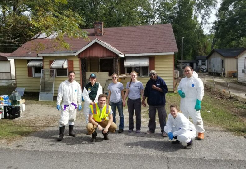 AmeriCorps members travel to South Carolina to help with disaster relief efforts