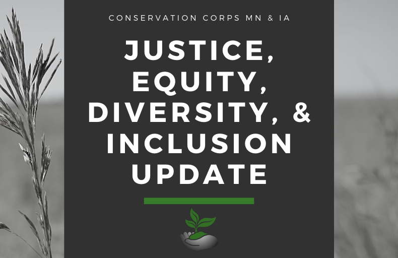 CCMI moving forward in our work for justice, equity, diversity, and inclusion