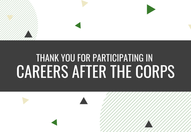 Virtual Career Event Engages AmeriCorps Members with Career Resources