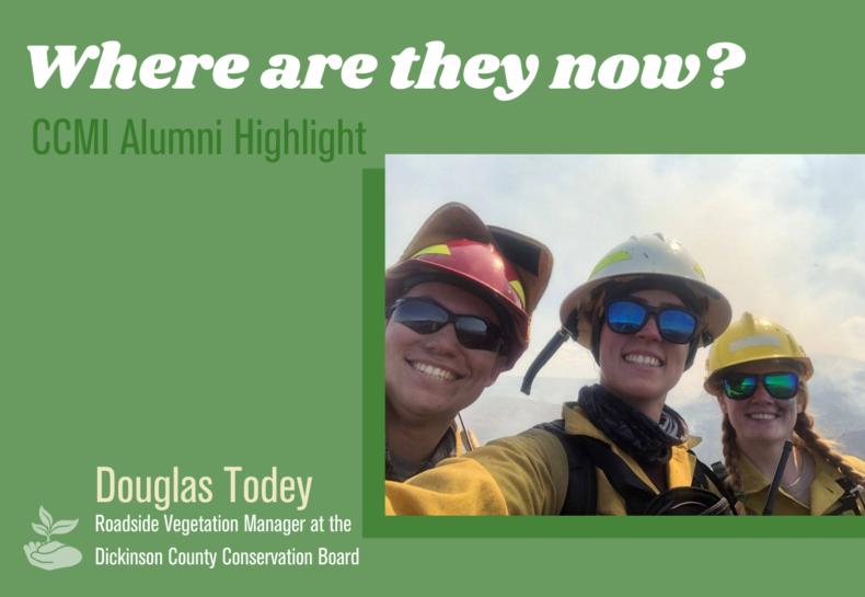 Where are they now? CCMI Alumni Highlight: Douglas Todey