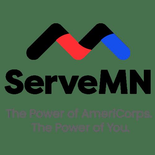 Serve MN logo and tagline
