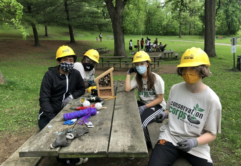 What is a Youth Outdoors Crew?