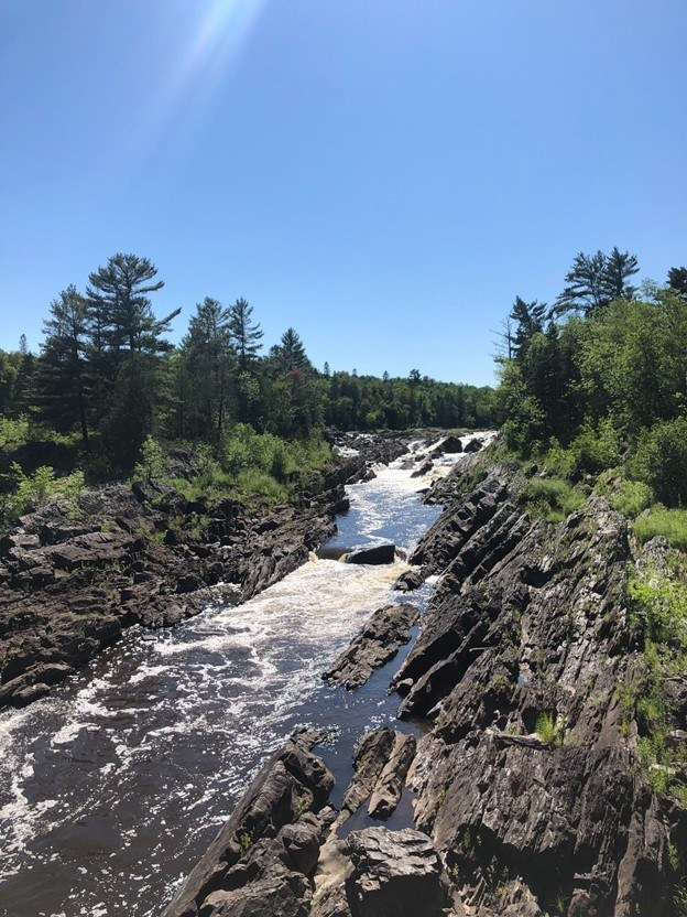 A rocky River