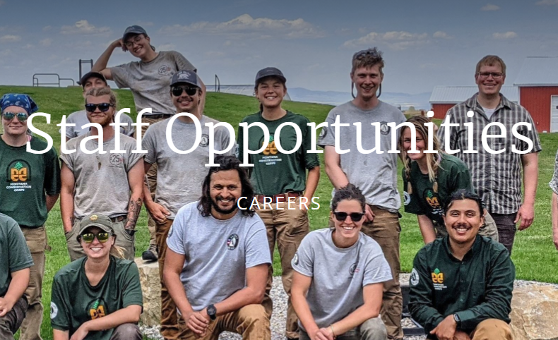 Multiple Staff Openings – Montana Conservation Corps